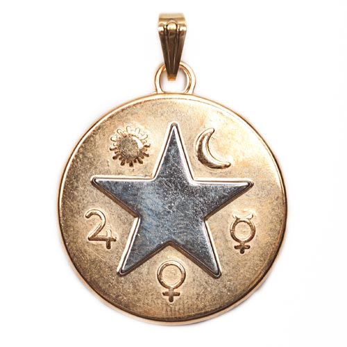 THE 7 PLANETS MAGIC MEDAL