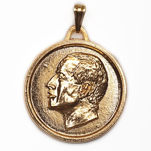 THE MAGIC MEDAL OF ERIAM plated in GOLD